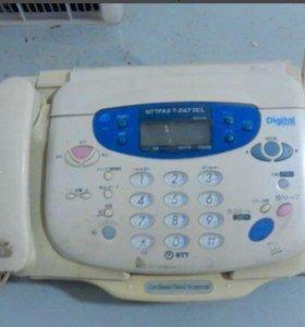 факсимильный аппарат.Япония