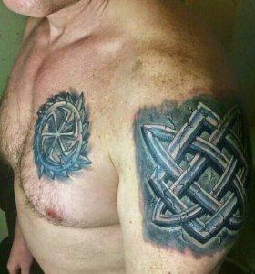 Художественная татуировка колпино