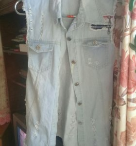 джинсы 29-30.джинсовка 44-46