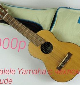 Гитара + укелеле = гиталеле Yamaha с чехлом