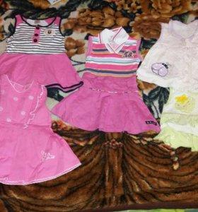 Детские платье