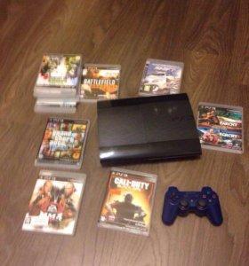 Sony PlayStation 3 Super Slim 500 GB прошита