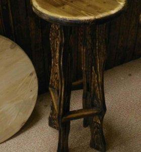 Деревянные барные стулья. Столярка