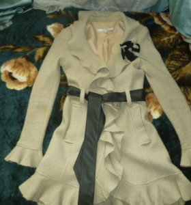 Срочно пальто из ламы