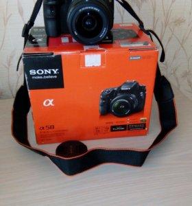 Фотоаппарат зеркальная камера полупрофессиональный