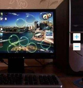 """Компьютер на Core i5-3470 с монитором ЖК 23"""""""