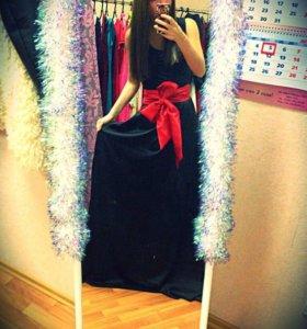Вечернее платье, платье в пол