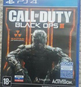 Диск для ps4 Call of duty black ops III