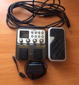 Гитарный процессор nux-mg100