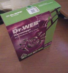 Антивирус DrWeb 1 год 2 Пк