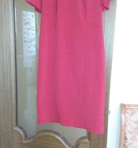 Платье женское красное размер 46 48