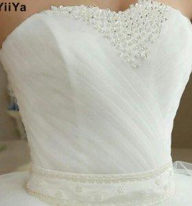 Только до 30 марта за 6500 Свадебное платье новое