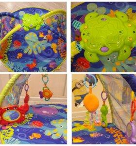 Талнах .Игровой коврик+6 съемных игрушек