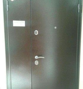 Двупольная дверь бульдорс