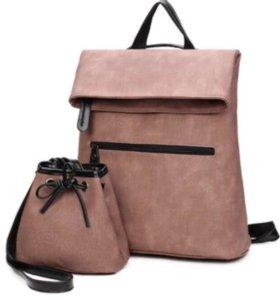 Рюкзак+сумочка