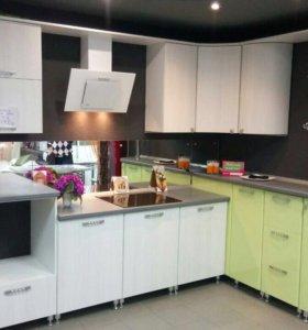 Новый кухонный гарнитур из пластика АРПА
