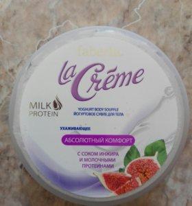 Йогуртовое суфле для тела