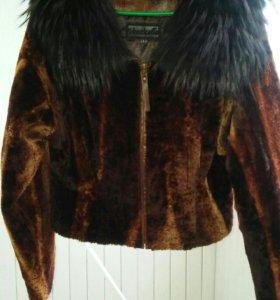 Шубка-куртка мутон