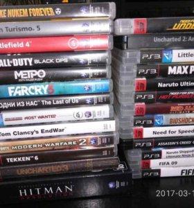 PlayStation 3 slim 500 gb и 26 игр.