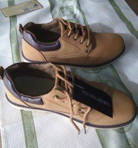 Ботинки мужские легкие