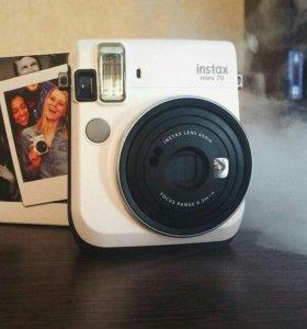 Fujifilm instax mini 70 фотоаппарат мгновенной печ