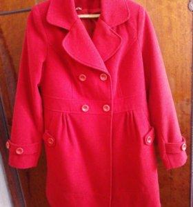 Пальто, 100% шерсть