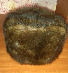Норковая шапка(комбинированная)
