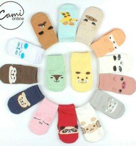 Носки для малышей девочкам и мальчикам