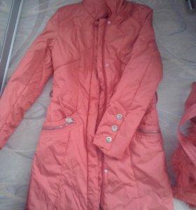 Длинная куртка (весна осень)