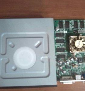 DVD привод и видео карта на пк