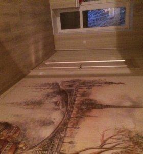 Отделочные работы -ремонт квартир .....