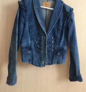 AMISU Джинсовая куртка