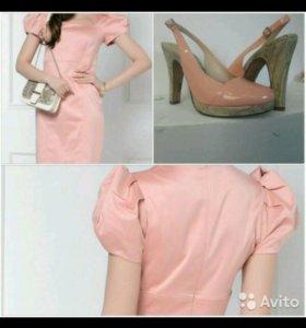 Платье и туфли в цвет
