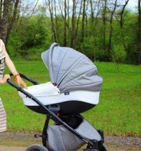 Детская коляска TUTIS Silver Plus (3 в 1)