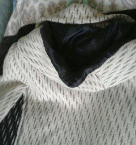 Пальто с утепленной подкладкой