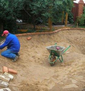 Земляные работы в ручную и облагораживание