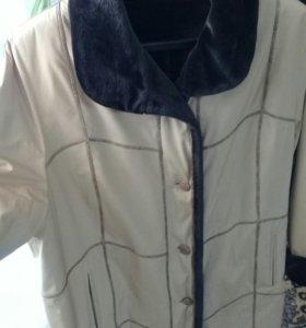 Куртка новая женская 2-сторонняя