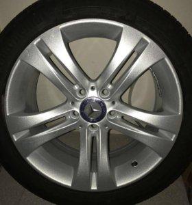Литые диски Mercedes 2 шт