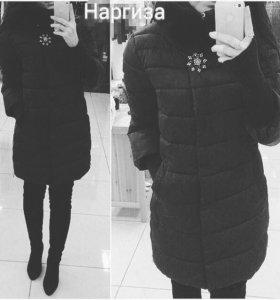 Куртка осенняя зимняя пуховик