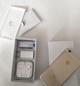 iPhone 6 16 gold новый