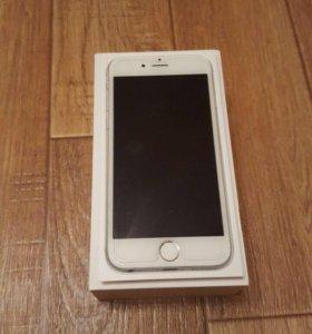 Телефон iPhone 6 silver