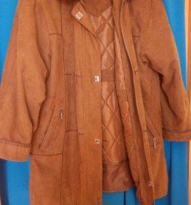 Куртка женская съемная подстежка воротник и капюшо
