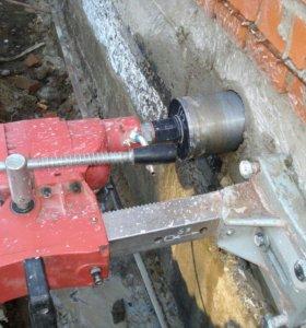 Сверлим отверстие в бетон Алмазное бурение