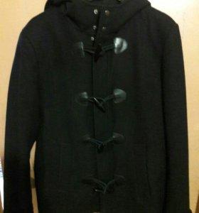 Пальто с капюшеном мужское