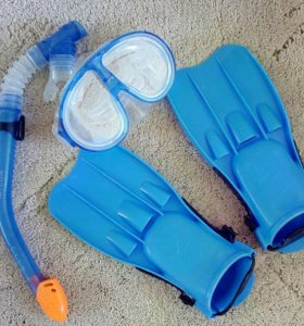 Набор для подводного плавания детский