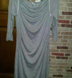 Платье и легинсы