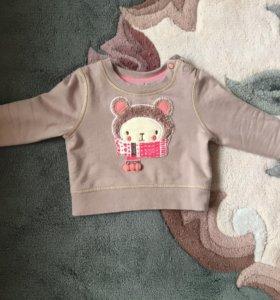 Детская кофта Mothercare 6-9 мес