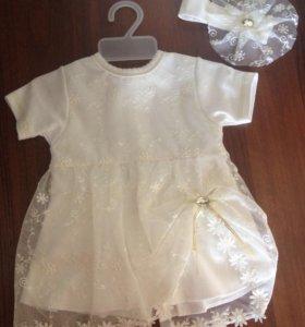 Платье малышки
