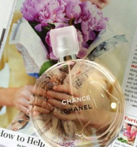 Chanel Chance Eau Vive 🍊Настоящий грейпфрутово