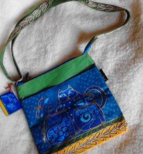 Креативная сумка ручной работы🌟